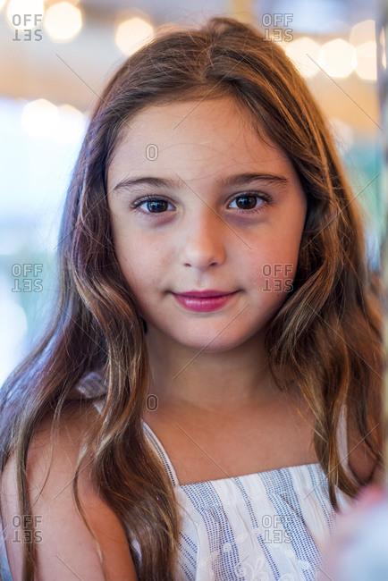 Portrait of a confident girl