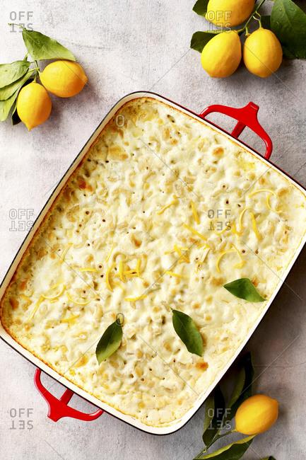 Meyer lemon mac and cheese