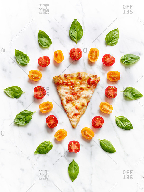 Pizza slice from the Offset Collection