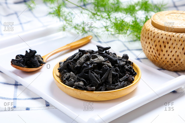 Many black fungus