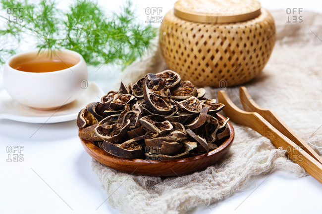 Chinese herbal medicine green husk
