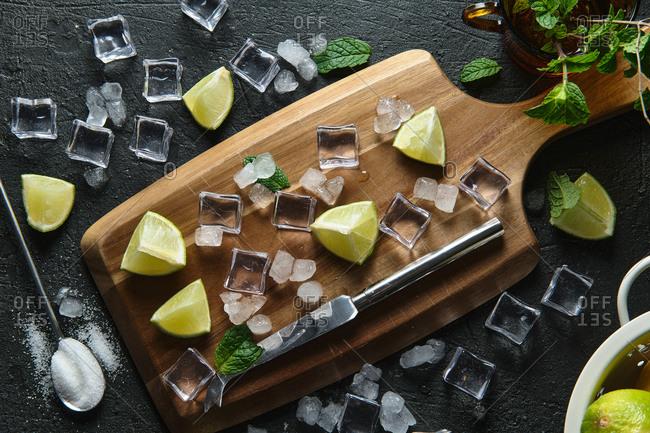 preparing the authentic cuban mojito