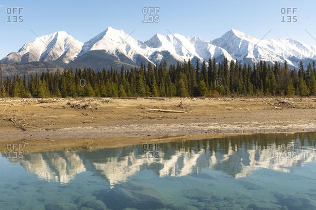 Mountain Reflection in Kootenay National Park