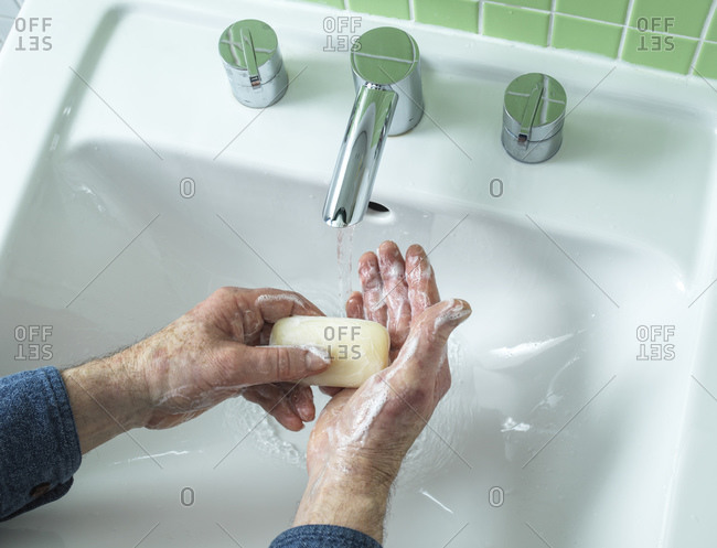 Hand washing. Thorough handwashing with soap helps to prevent the spread of infections.