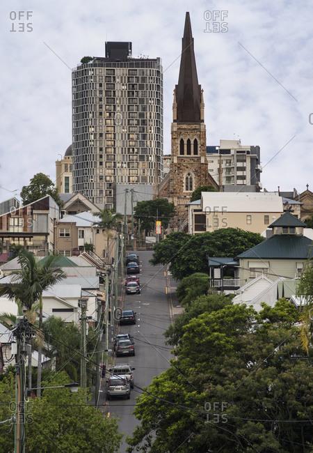 March 29, 2020: Spring Hill in Brisbane