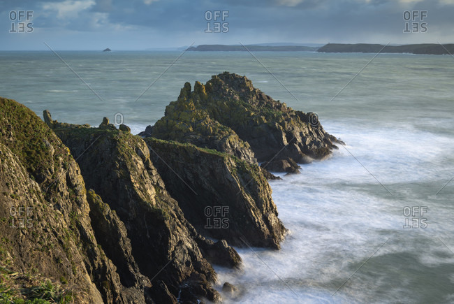 Merope Rocks on Trevose Head, Cornwall, England, United Kingdom, Europe