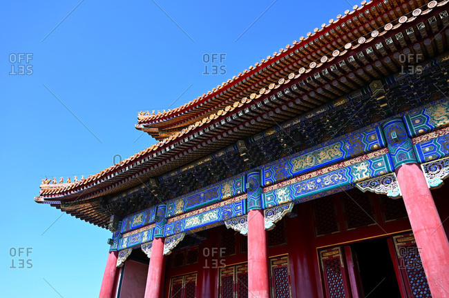 The Hall of Supreme Harmony inside the Forbidden City palace complex, UNESCO World Heritage Site, Beijing, China, Asia
