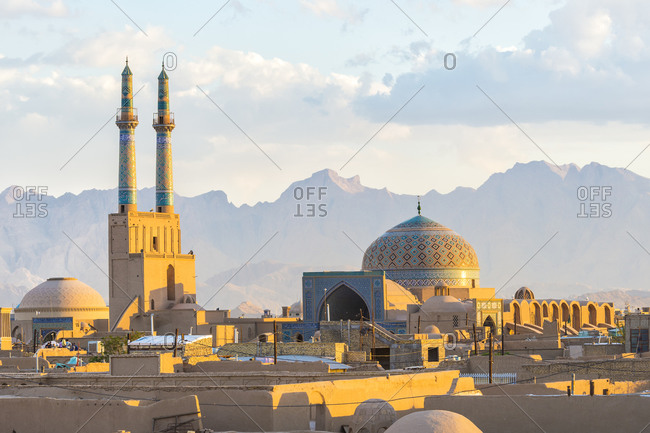 Masjid-e Jame Mosque (Friday Mosque), Yazd, Iran, Middle East