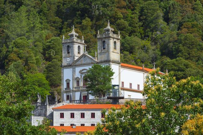 Nossa Senhora da Peneda Sanctuary, Peneda Geres National Park, Gaviera, Minho province, Portugal, Europe