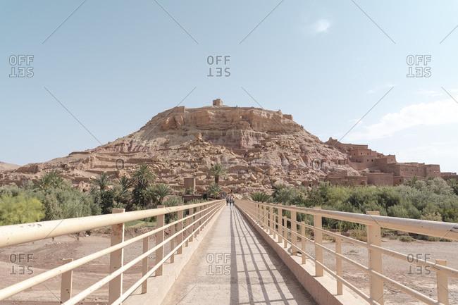 Footbridge at Ouarzazate- Morocco