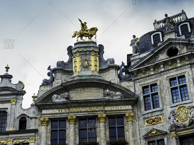 Brussels Grand Place, City of Brussels in Belgium