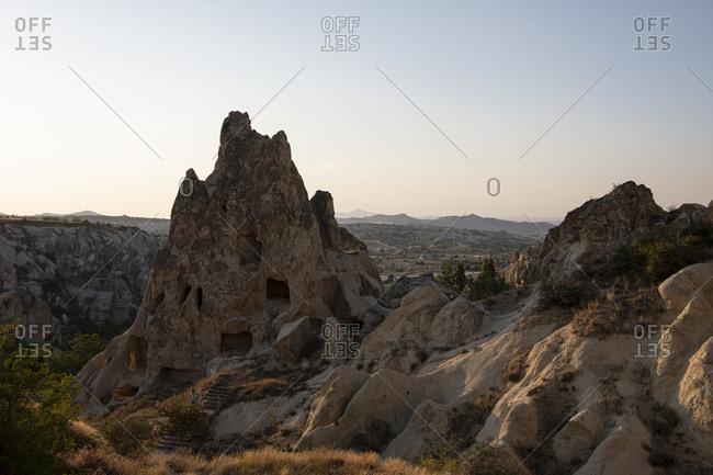 Goreme, Turkey - 29 August 2019 : Goreme Open Air Museum