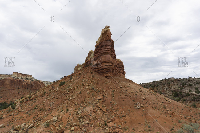 Rock Formations in Rio Arriba County, New Mexico