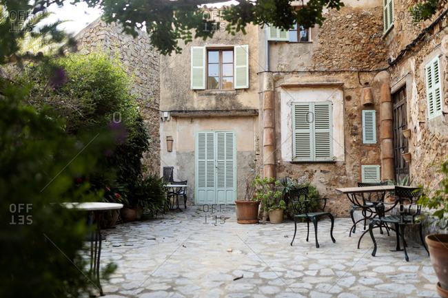 Yard of an old house- Valldemossa- Mallorca- Spain