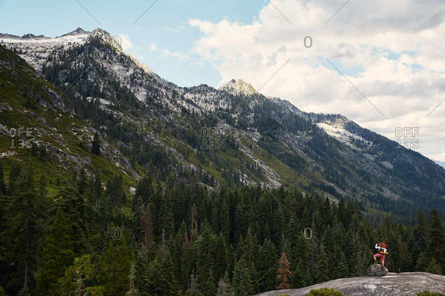 Hiking in the Trinity Alps