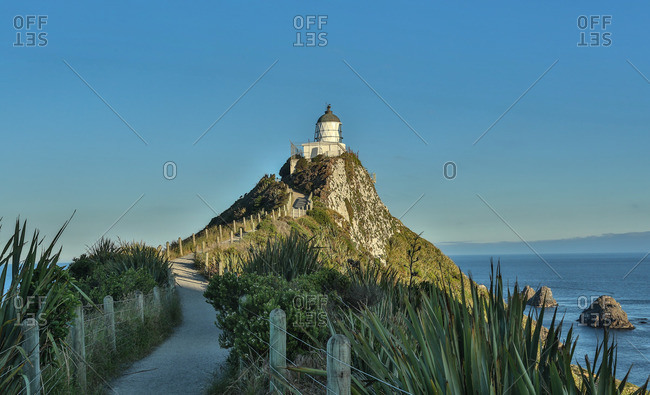 New Zealand, Nugget Point Lighthouse
