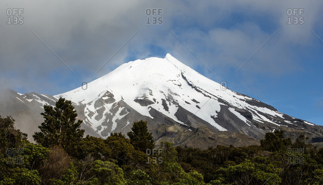New Zealand, North Island, Mount Taranaki