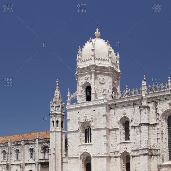 Mosteiro dos Jeronimos Monastery, UNESCO World Heritage Site, Belem, Lisbon, Portugal