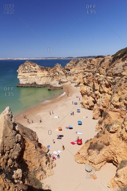 June 7, 2017: Praia de tres Irmaos, Alvor, Algarve, Portugal