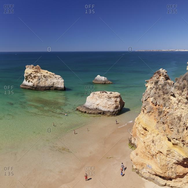 Praia de tres Irmaos, Alvor, Algarve, Portugal