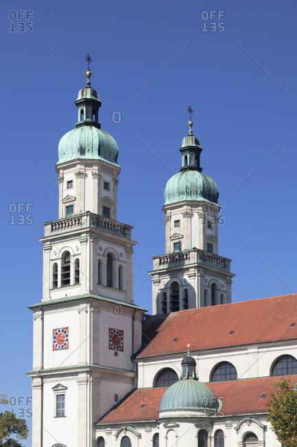 St Lorenz's Basilica, Kempten, Swabia, Bavaria, Germany