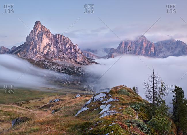 Monte Nuvolau, Tofana di Rozes, Passo di Giau, Veneto, Italy