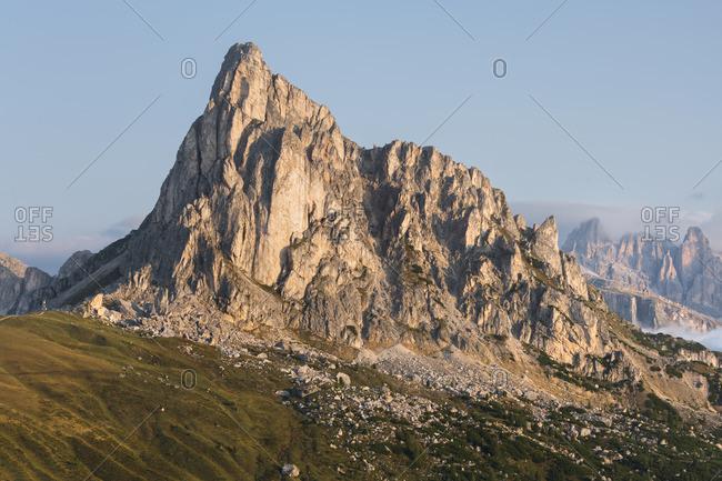 Monte Nuvolau, Passo di Giau, Veneto, Italy
