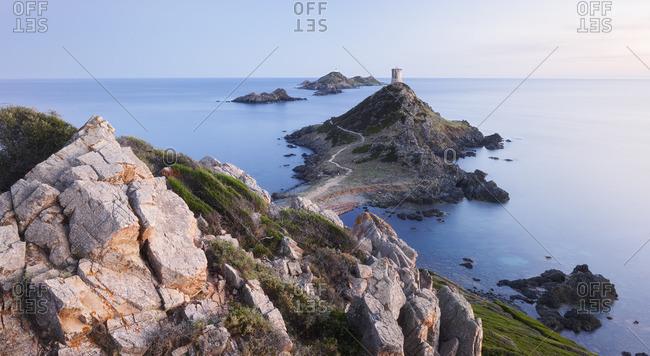 Tour de la Parata, Iles Sanguinaires, Ajaccio, Corsica, France