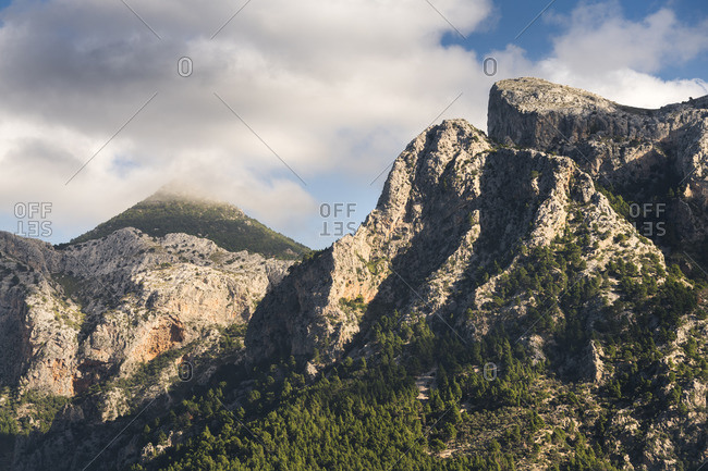 Mountains at Soller, Tramuntana, Mallorca, Baleares, Spain