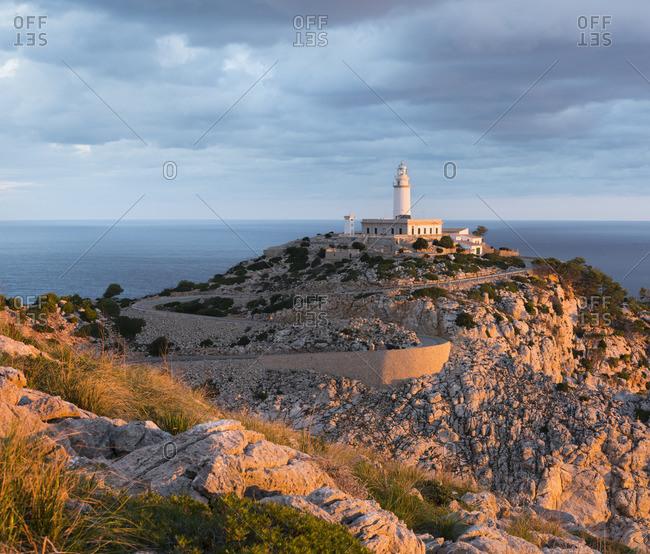 Lighthouse at Cap Formentor, Mallorca, Balearic Islands, Spain