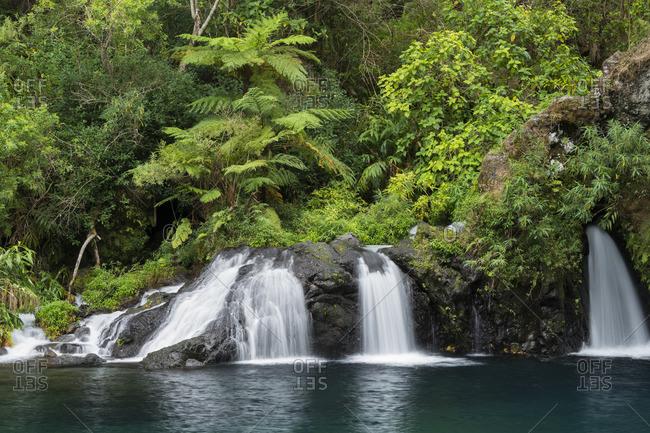 Cascade Trou Noir, Langevin, Reunion, France