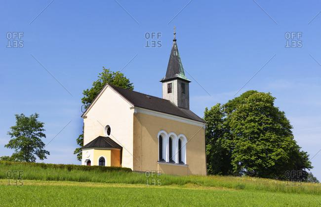 Austria, Upper Austria, Hausruckviertel, Frankenmarkt, pilgrimage church Maria Auleiten,