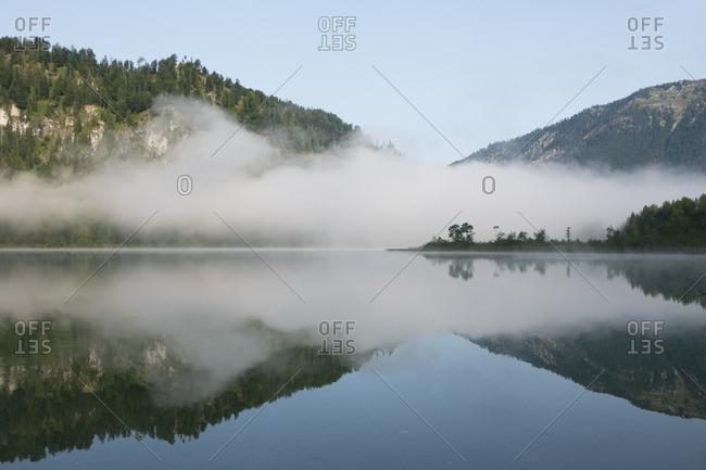 Austria, Upper Austria, Salzkammergut, Offensee, Totes Gebirge,