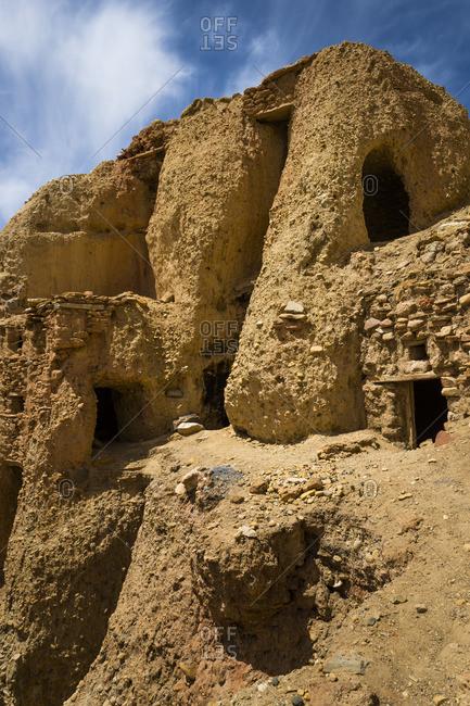 Boon Monastery Gurugyam in Tibet,