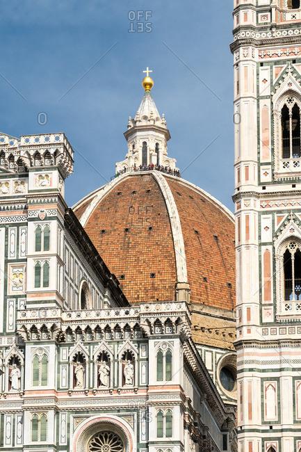 Florence, Cattedrale di Santa Maria del Fiore, dome with visitors
