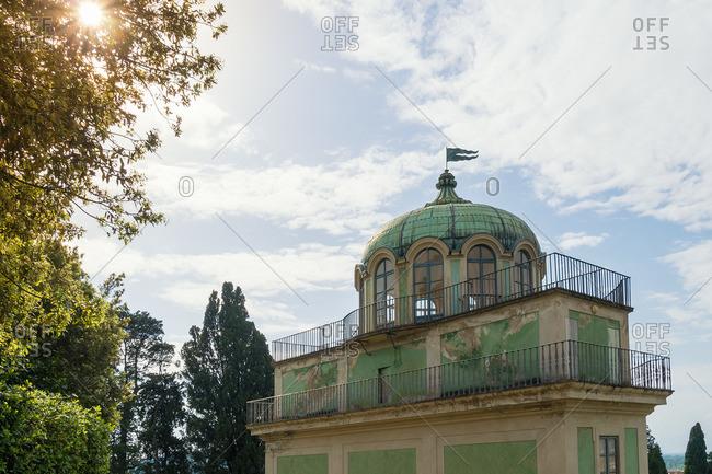 Florence, Giardino di Boboli, cafe