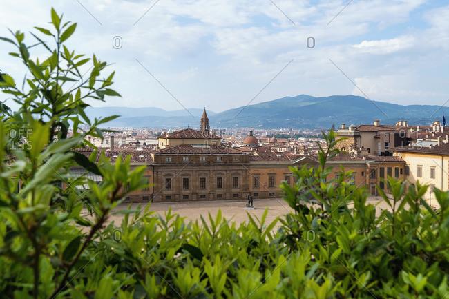 April 29, 2018: Florence, Giardino di Boboli, Palazzina della Meridiana