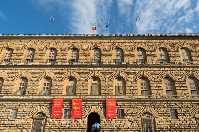 April 29, 2018: Florence, Palazzo Pitti