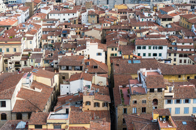 Florence, Palazzo Vecchio, view from the tower