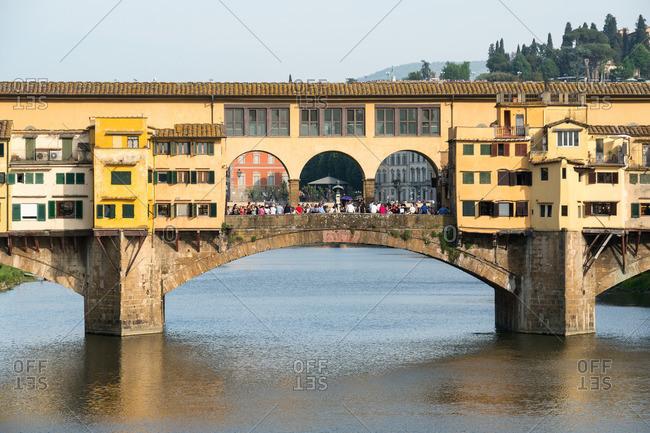 April 27, 2018: Florence, Ponte Vecchio