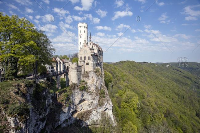March 19, 2016: Castle Lichtenstein on the Swabian Alb