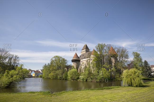 April 28, 2018: Heidenreichstein Castle, Heidenreichstein, Waldviertel Region, Lower Austria, Austria,