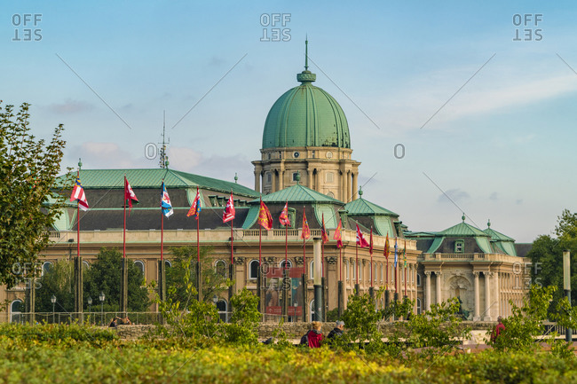 Budapest, Hungary - September 24, 2017: Budapest Historic Museum at the Buda Castle