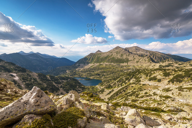 Scenery summer landscape, Pirin Mountain, Bulgaria.
