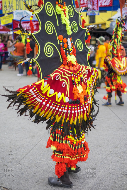 Dancer at Ati-Atihan Festival, Kalibo, Philippines