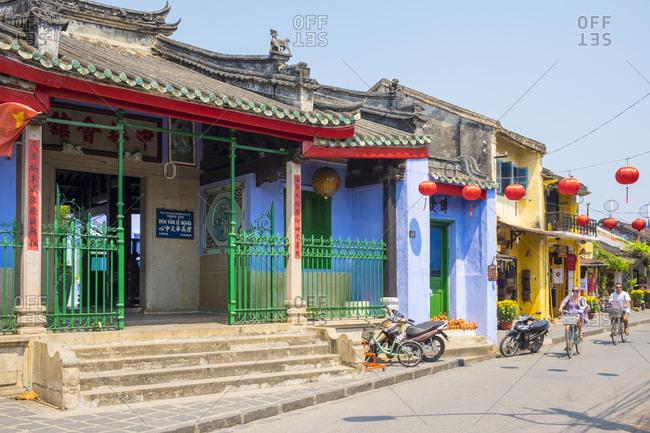 Hoi An, Quang Nam Province, Vietnam - February 26, 2015: Trung Hoa Assembly Hall, Hoi An, Vietnam