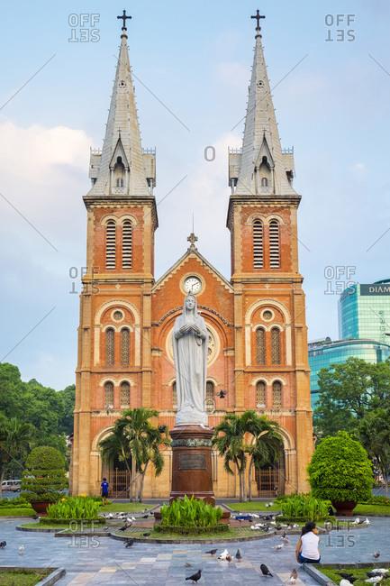 Saigon Notre-Dame Basilica cathedral, Ho Chi Minh City, Vietnam