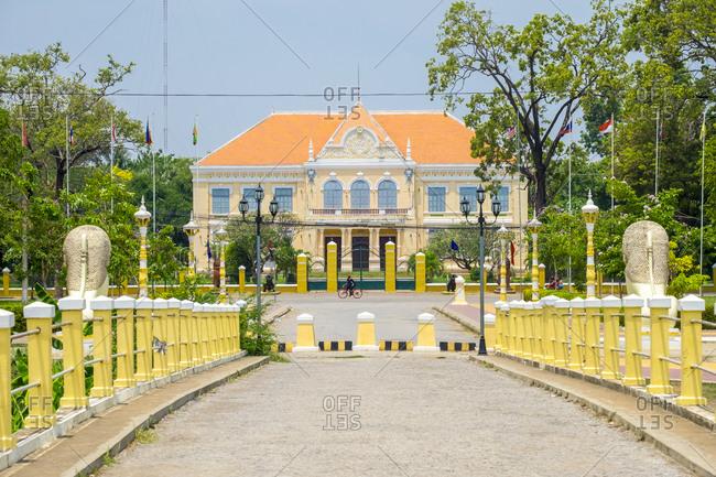 Battambang Provincial Hall (Governor's Residence), Battambang, Cambodia
