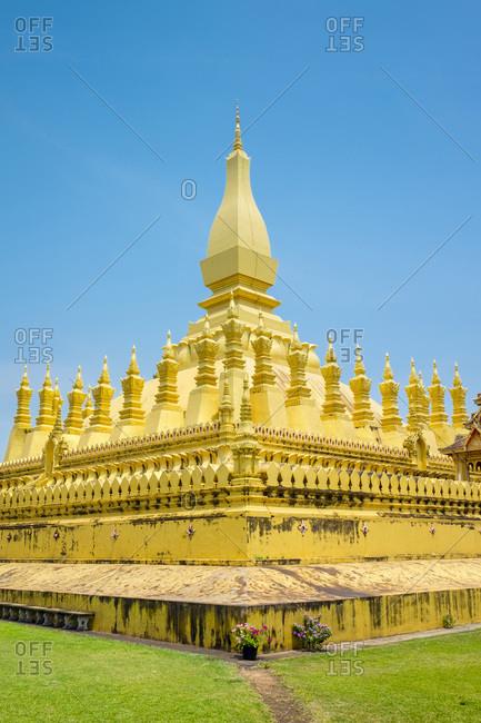 Pha That Luang golden stupa, Vientiane, Laos