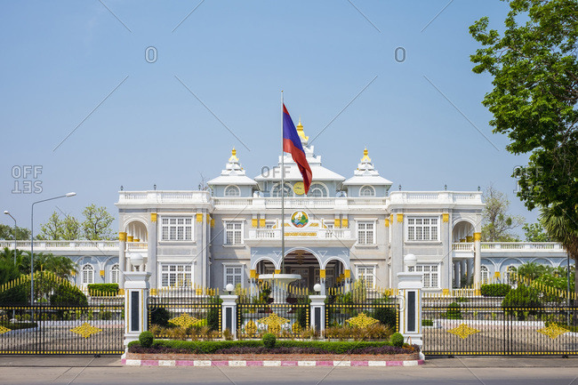 Presidential Palace, residence of the President of Laos, Vientiane, Laos